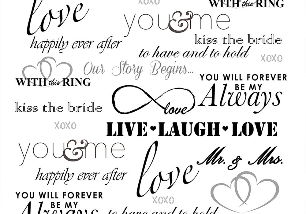Wedding Words